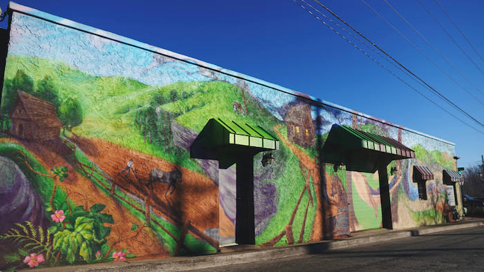 Farmland Building Mural