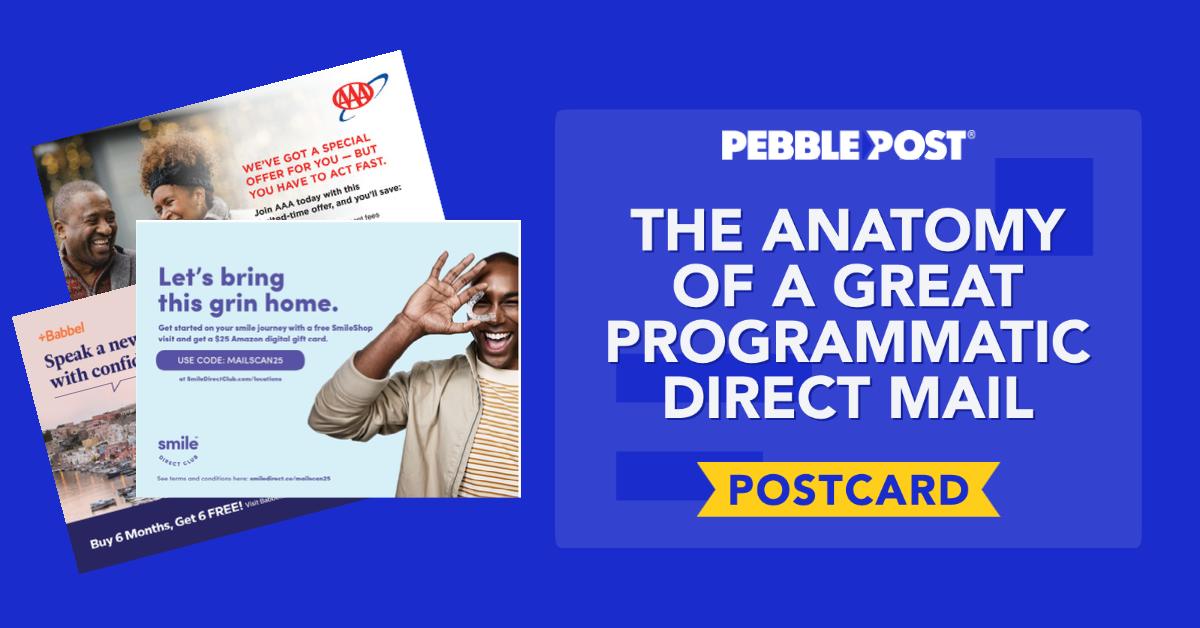 programmatic direct mail postcard