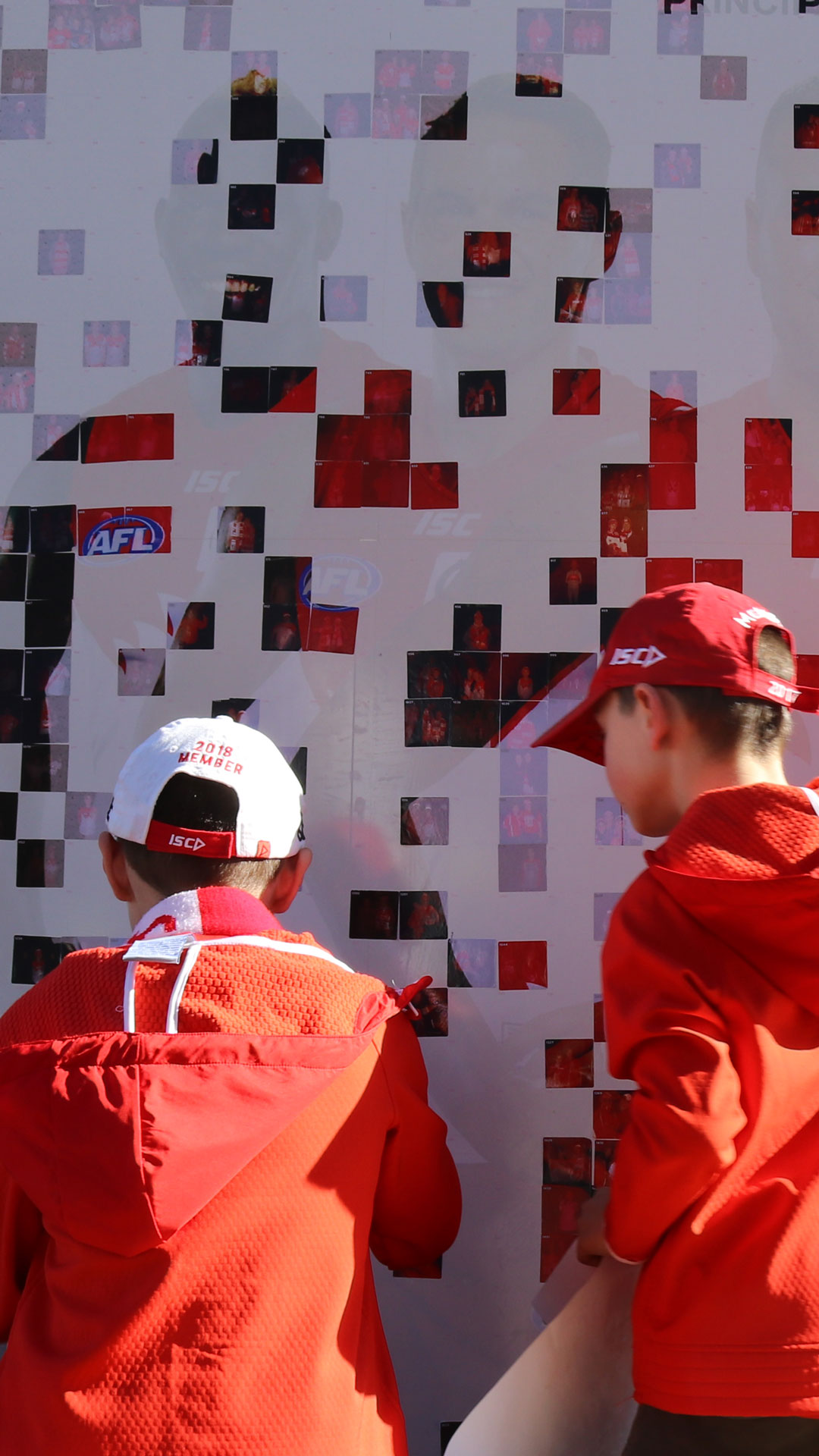 QBE Sydney Swans Fabric of the Swans