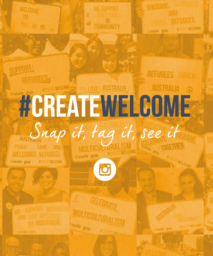 MDA Create Welcome