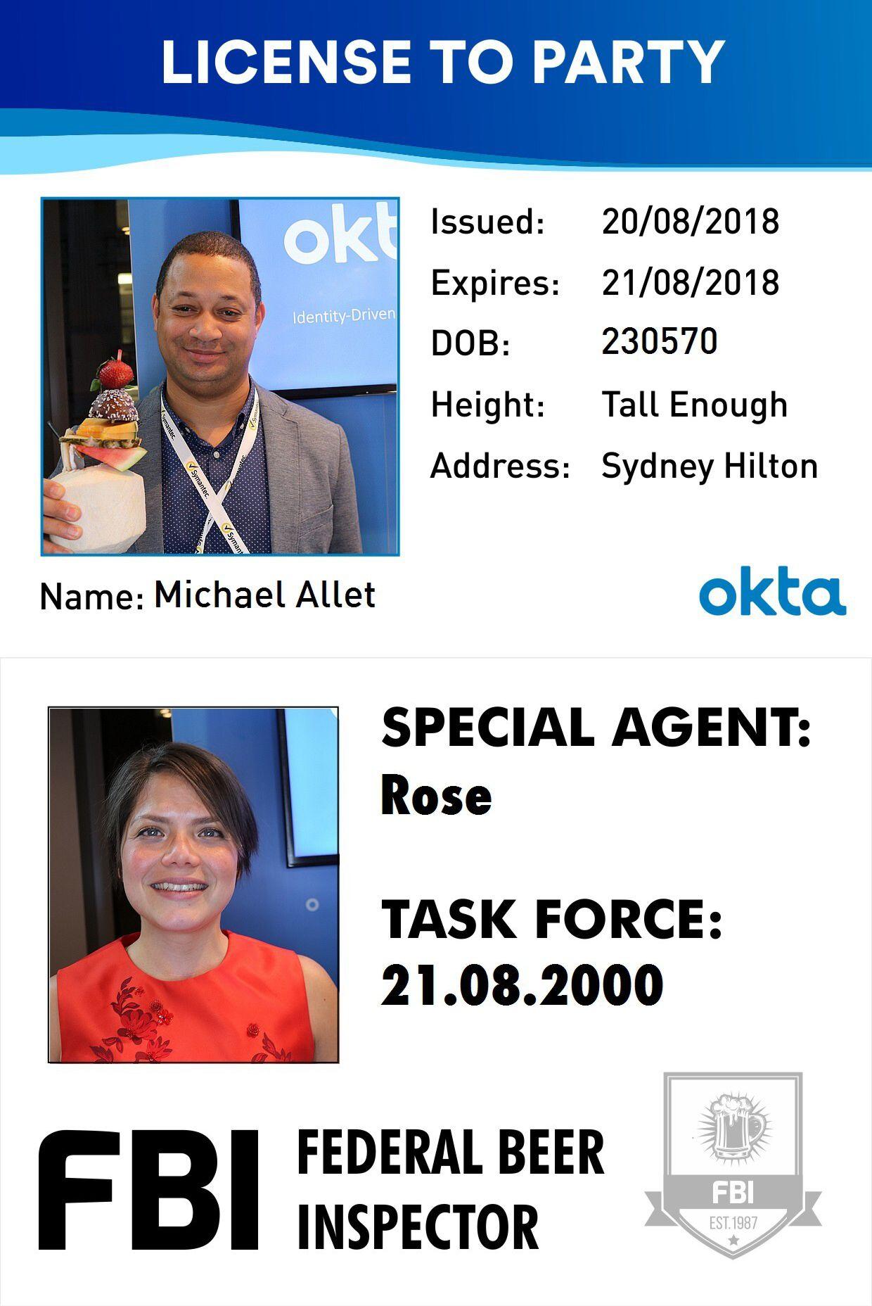 Okta Fake IDs