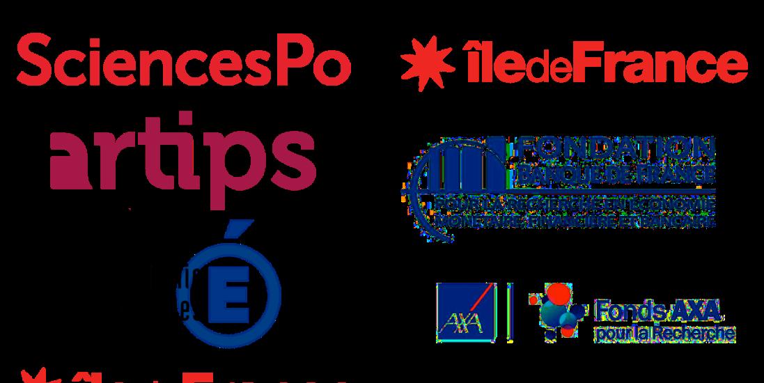 SciencesPo, Artips, Académie de Versailles, Île de France, Fondation Banque de France, Fonds AXA pour la Recherche