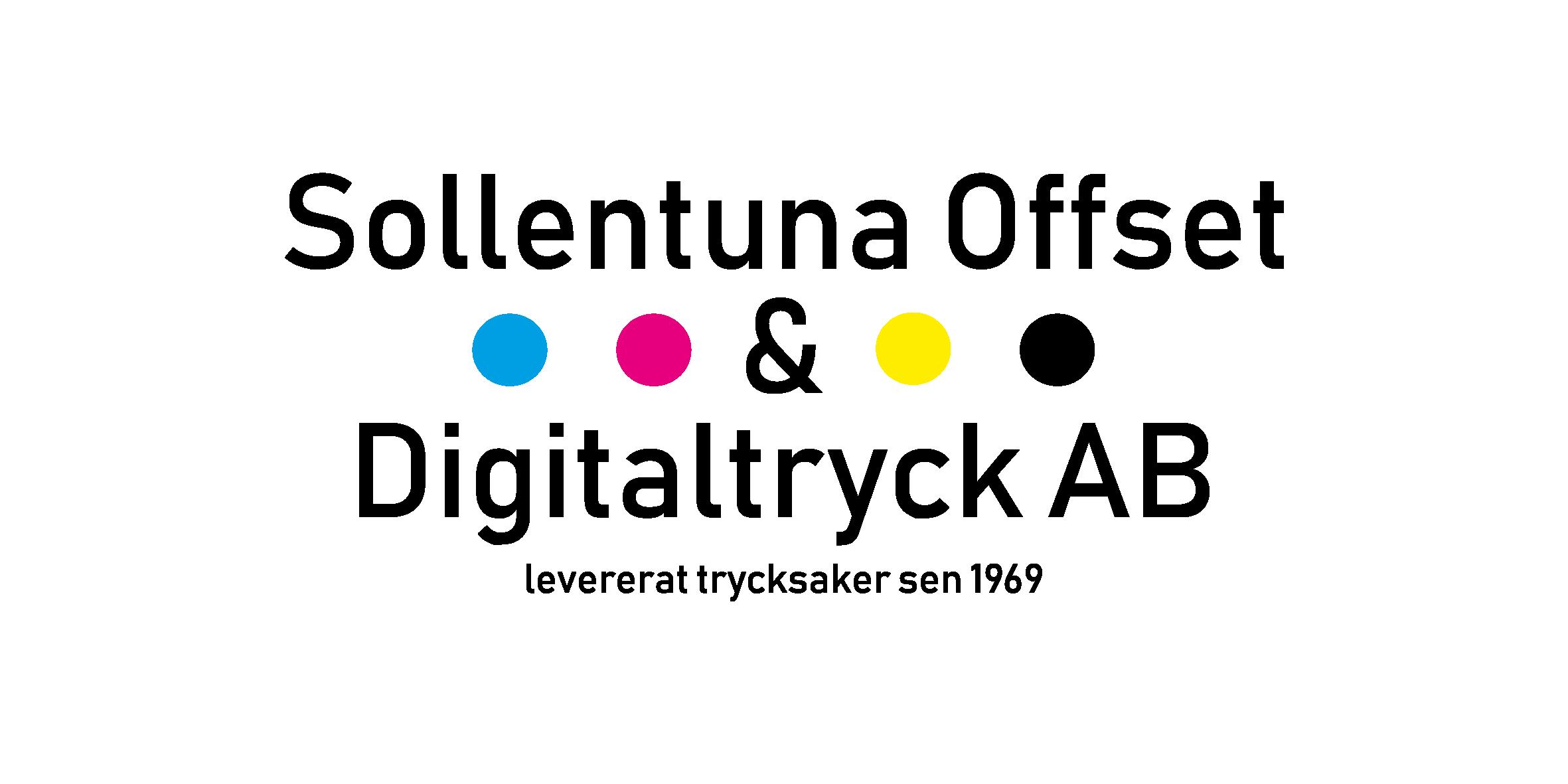 Sollentuna Offset & Digitaltryck - Ditt tryckeri i sollentuna Logo