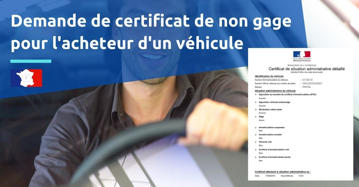 certificat de situation administrative pour acheteur