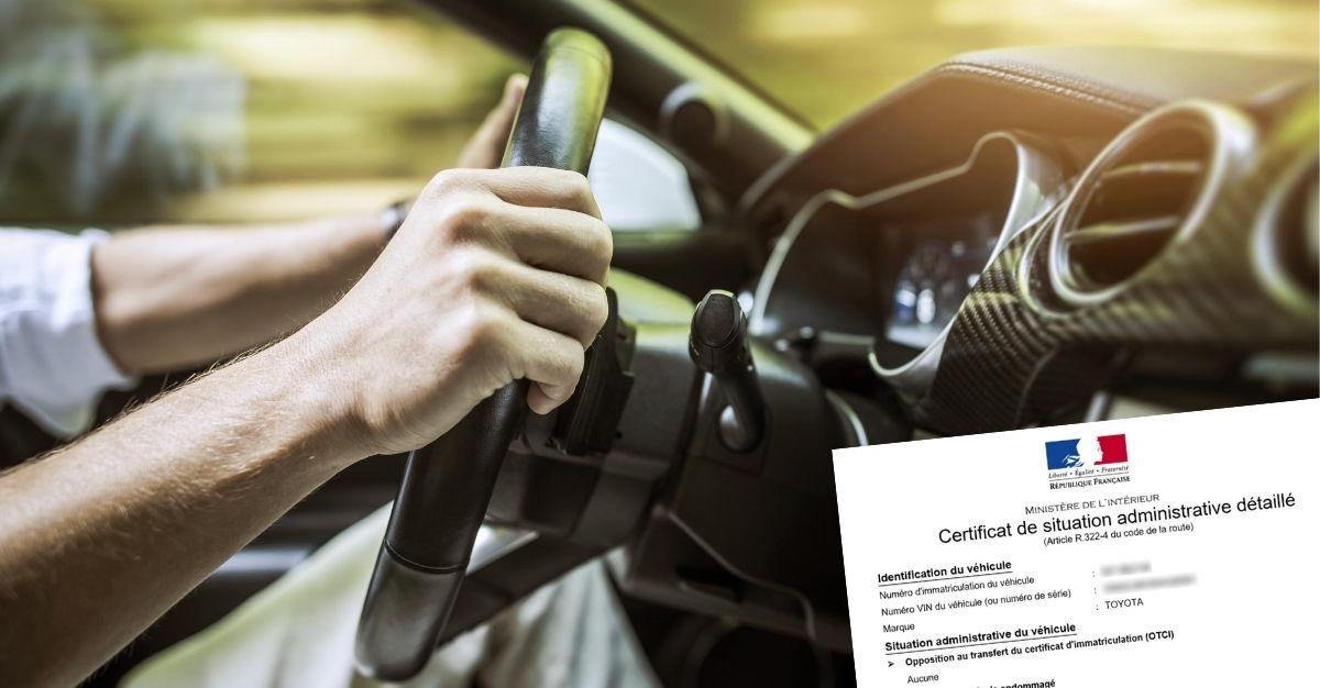 Quand demander un certificat de non gage ?