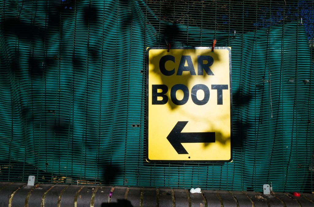 Make money from car boot sales