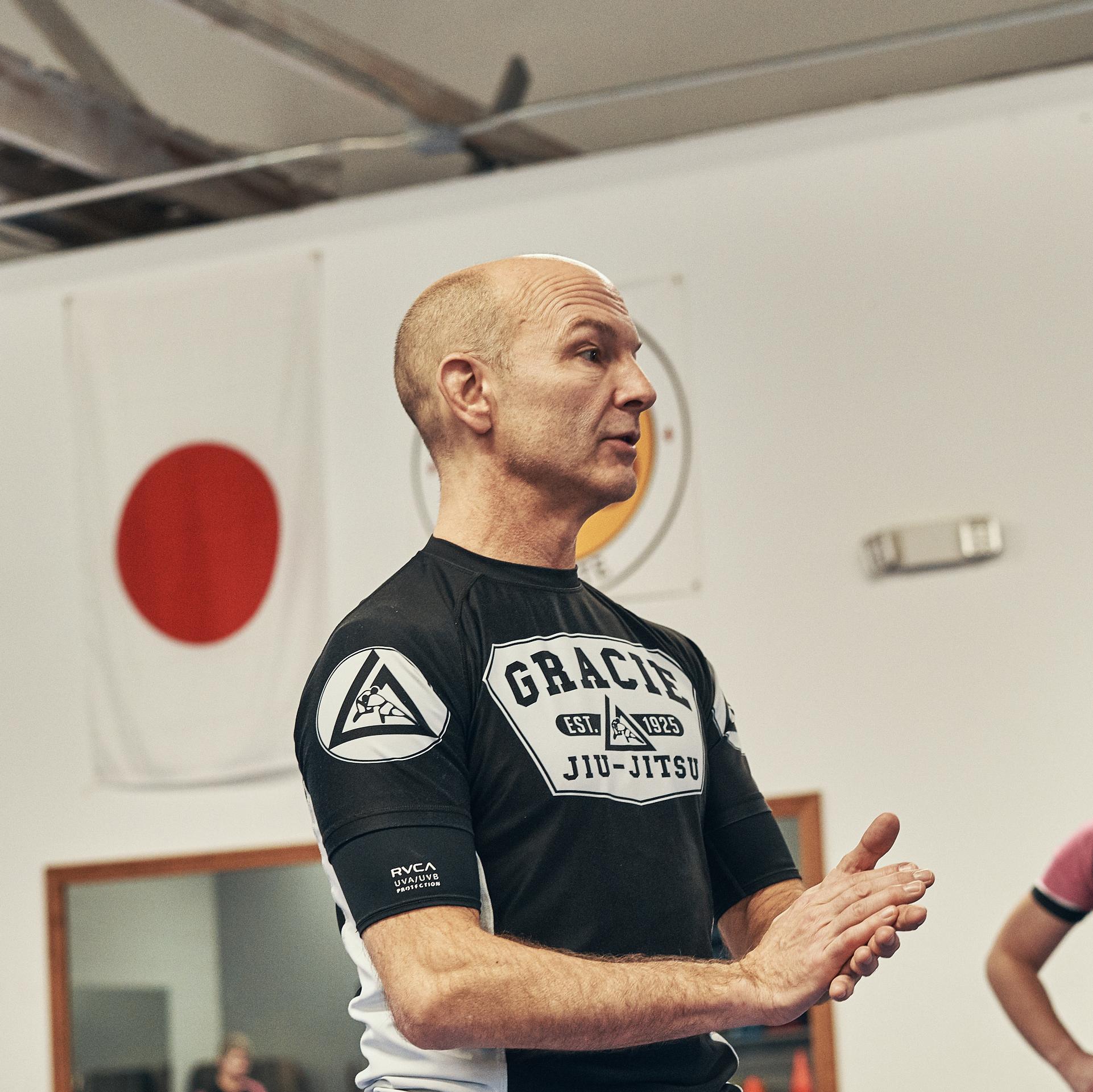 Victor Gracie jui-jitsu instructor and owner John Ingallina
