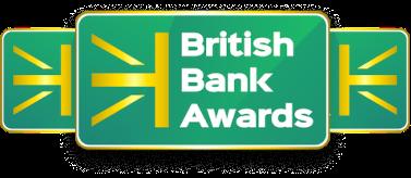 British Bank Awards badges