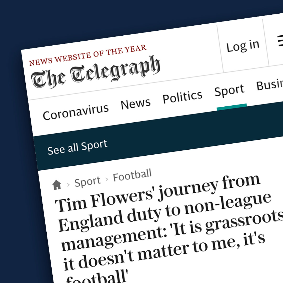 The Telegraph newspaper article