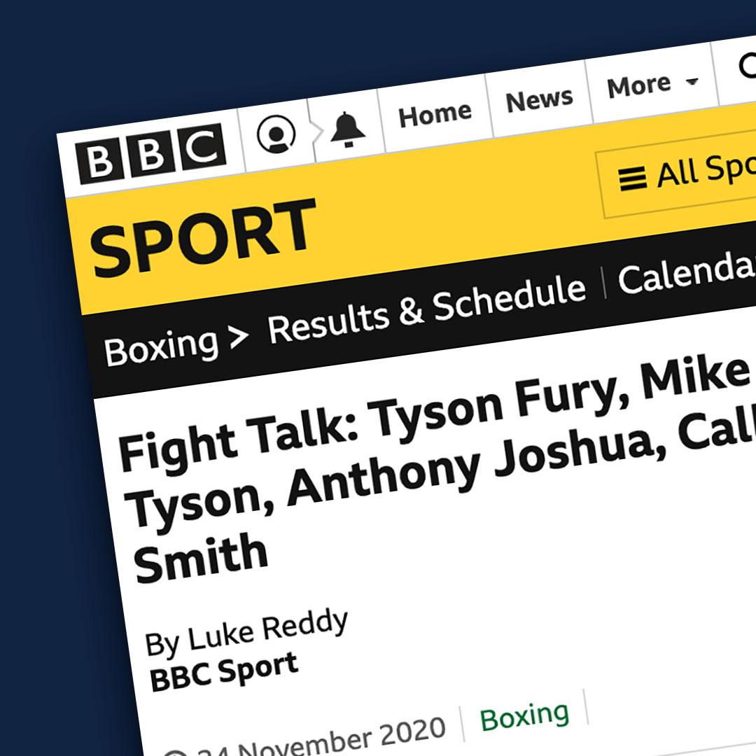 BBC Sport newspaper article