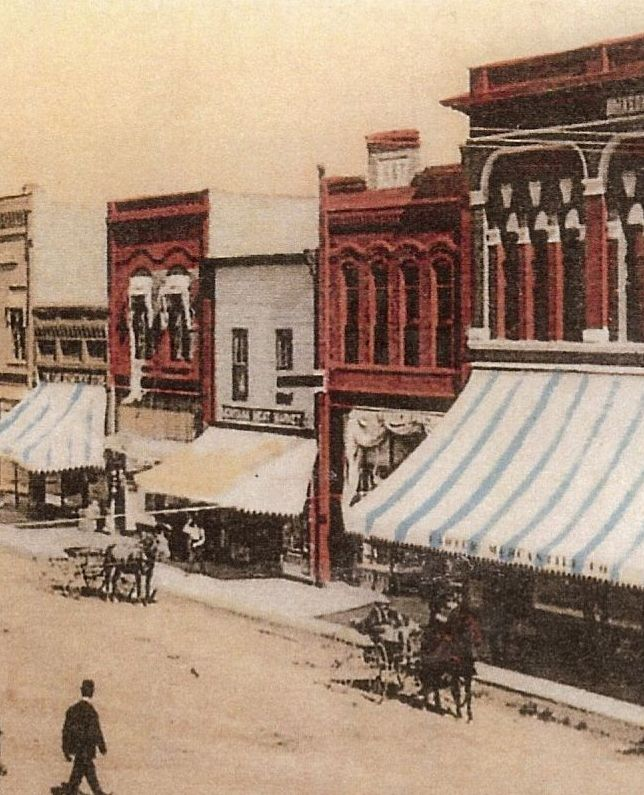 Picture of downtown historic kalispell Coins and Carats building