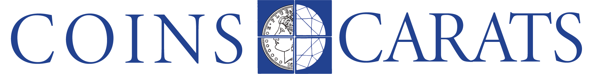 Coins and Carats Wide Logo