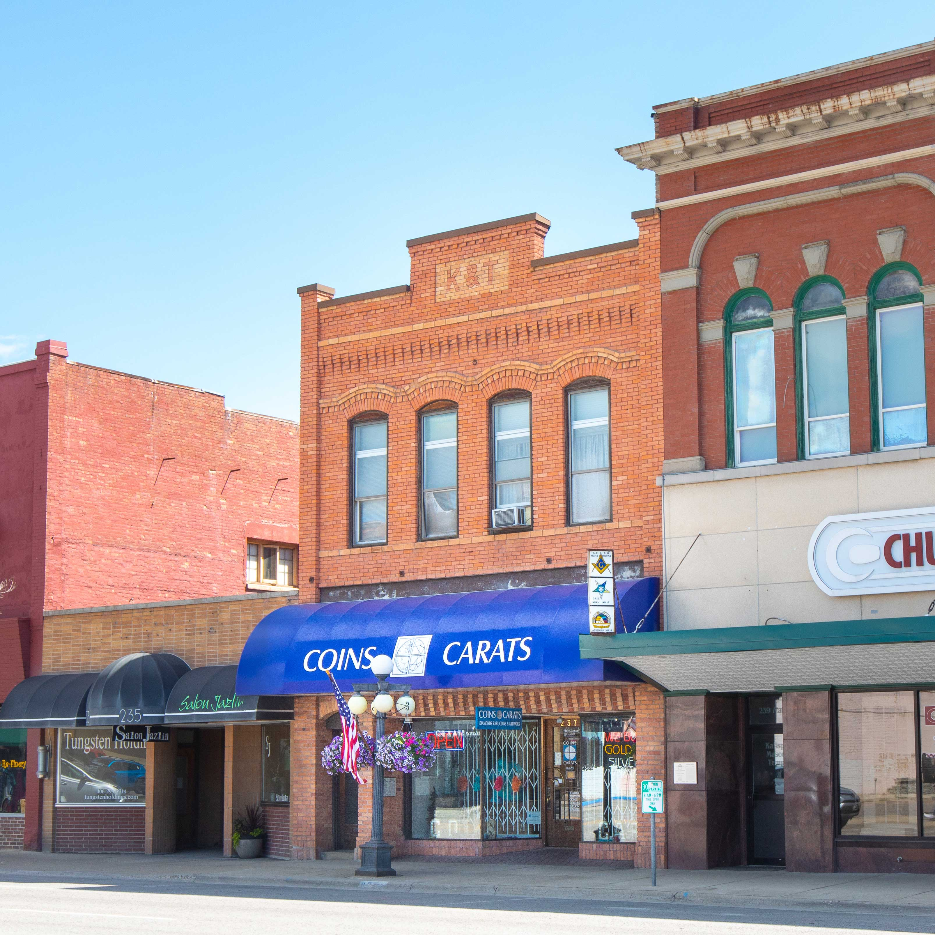 Front of Coins and Carats Kalispell