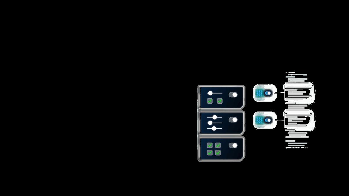Featured work - Tricentis graphic element