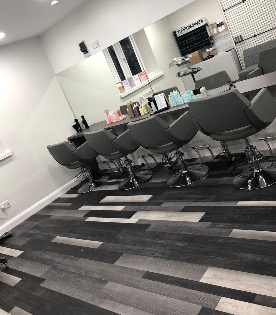 Private ladie room in hair salon. Perfect for Hen Parties, Muslim Women and Bridal Parties