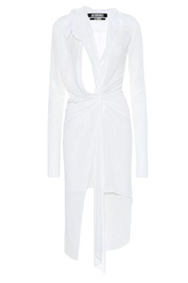 WHITE CUT OUT DRESS