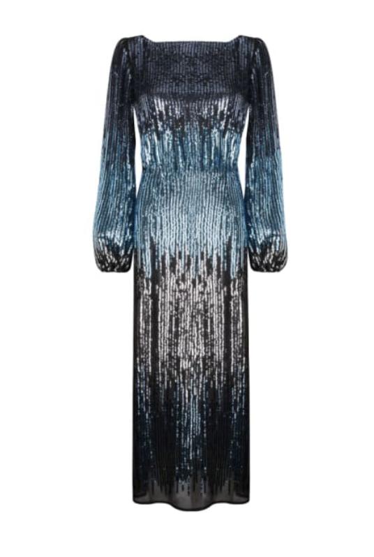 Coco Sequin Midi Dress
