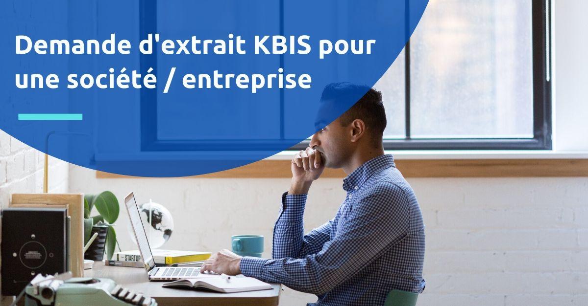 kbis société entreprise