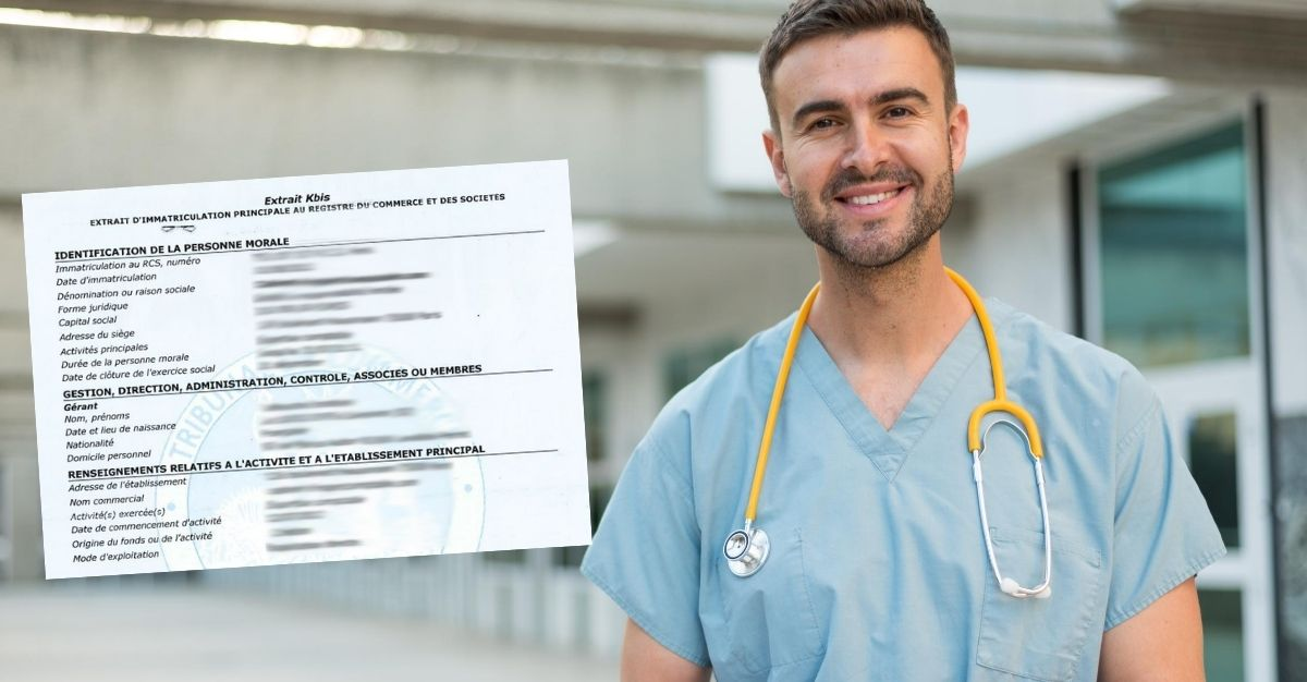 extrait kbis infirmier libéral
