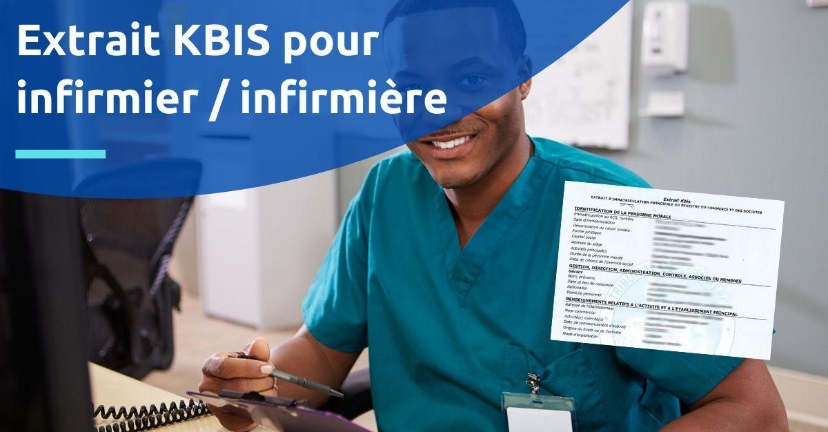 kbis pour infirmier