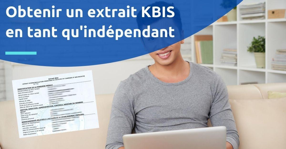 kbis pour indépendant