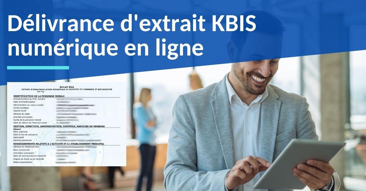 extrait kbis numérique