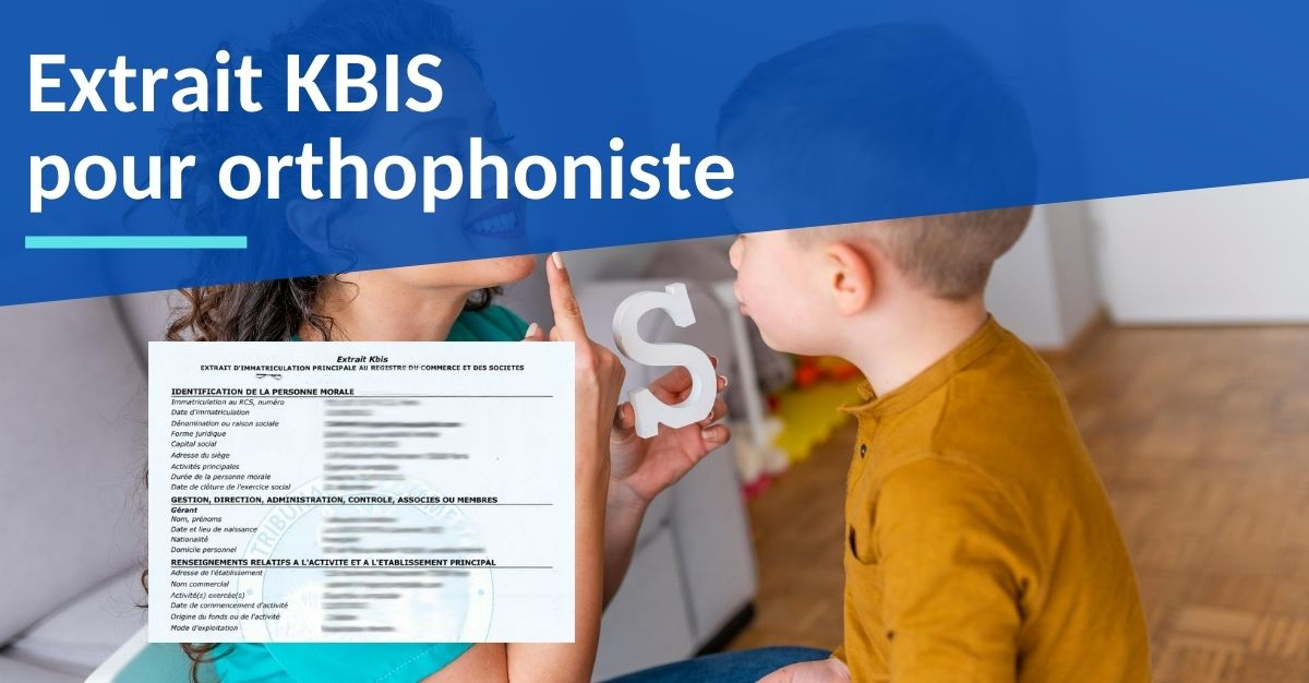 kbis ortophoniste