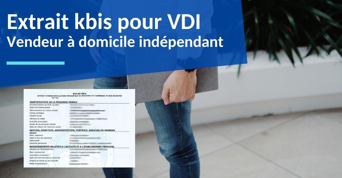 extrait kbis pour VDI