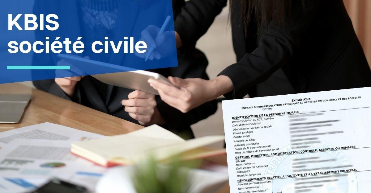 kbis société civile