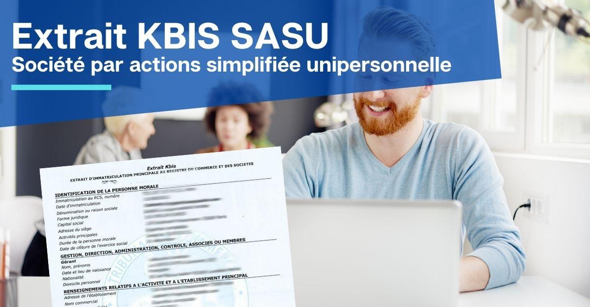 extrait KBIS SASU