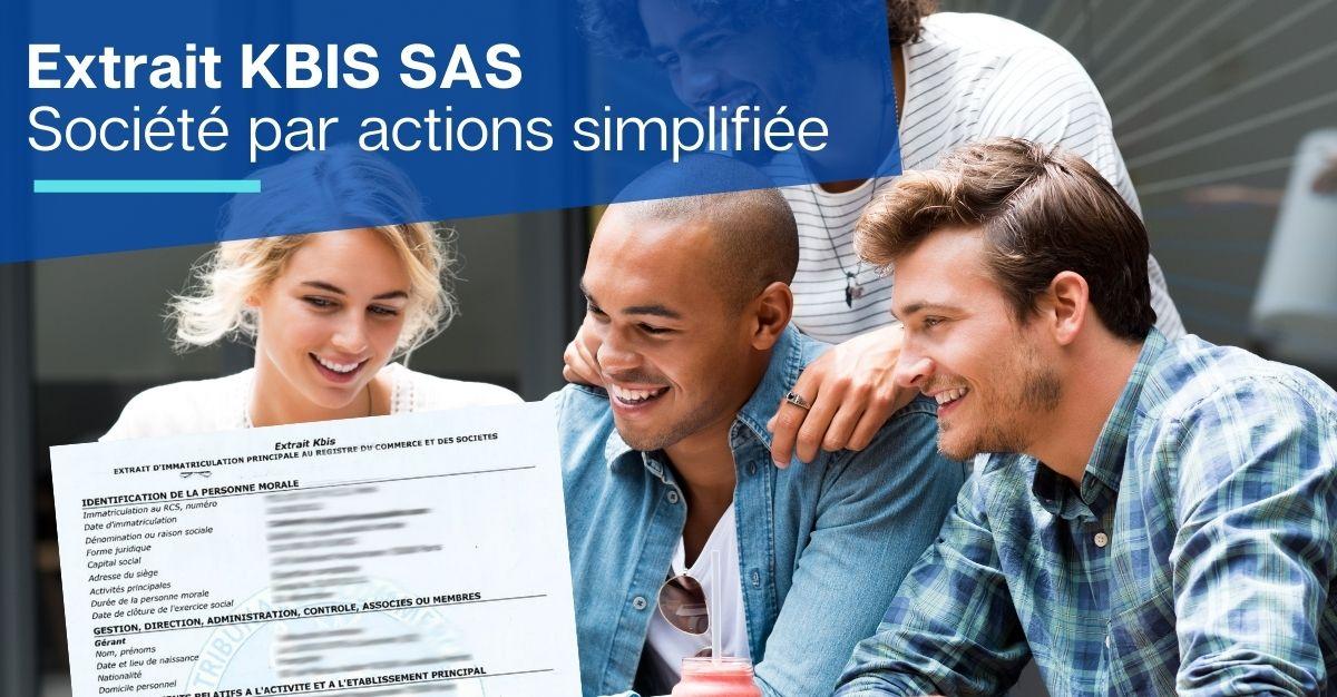 Extrait KBIS SAS