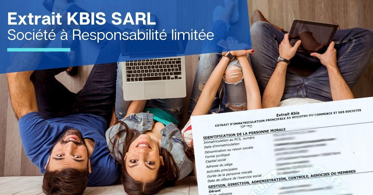 extrait KBIS SARL