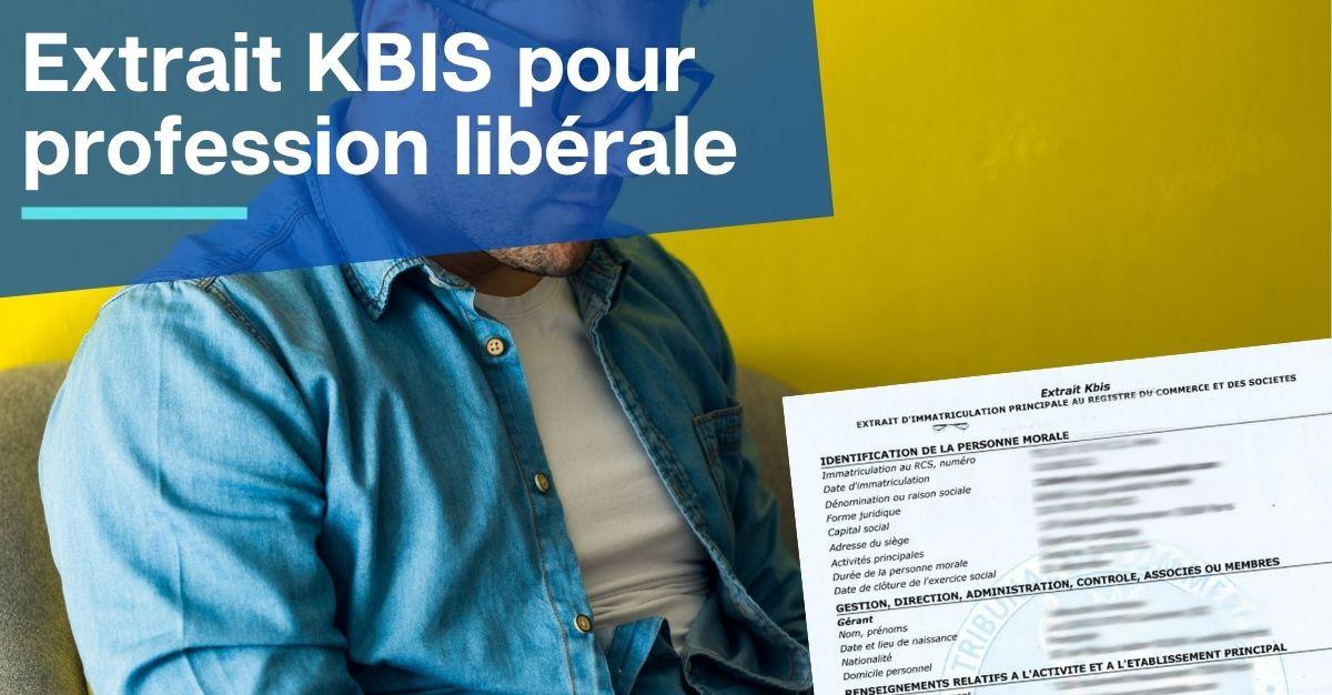 KBIS pour profession libérale