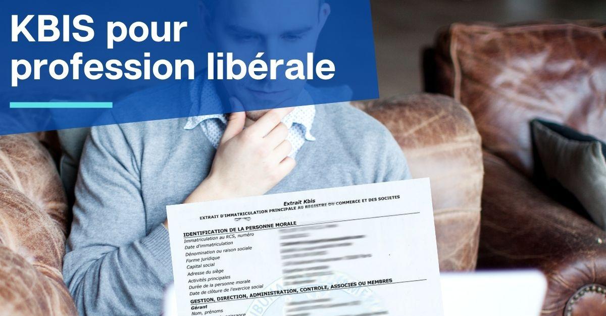 kbis profession libérale