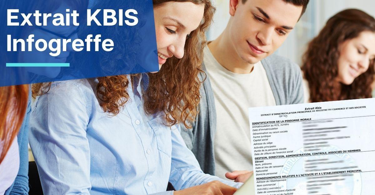 extrait KBIS infogreffe