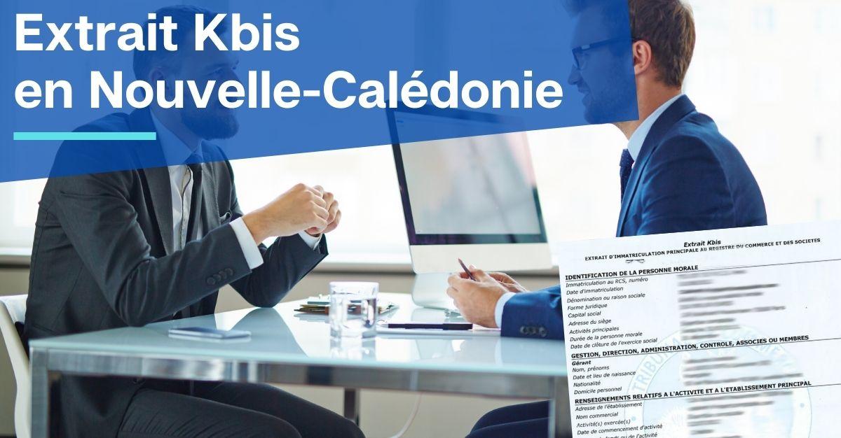 Kbis en Nouvelle-Calédonie