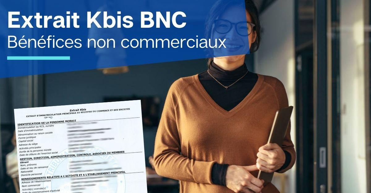 extrait kbis BNC