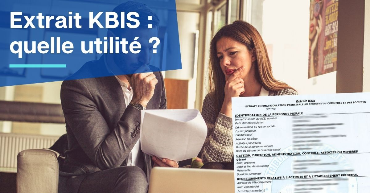 utilité extrait KBIS