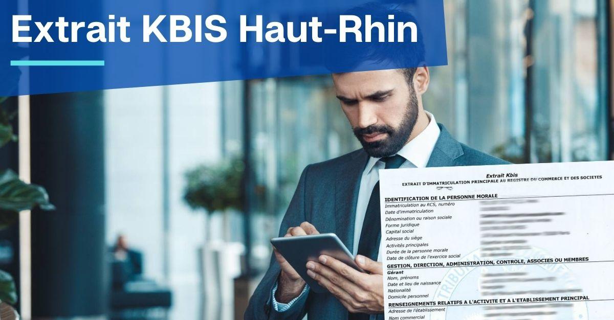 Extrait KBIS Haut-Rhin