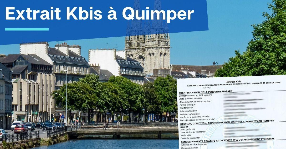 Extrait Kbis à Quimper