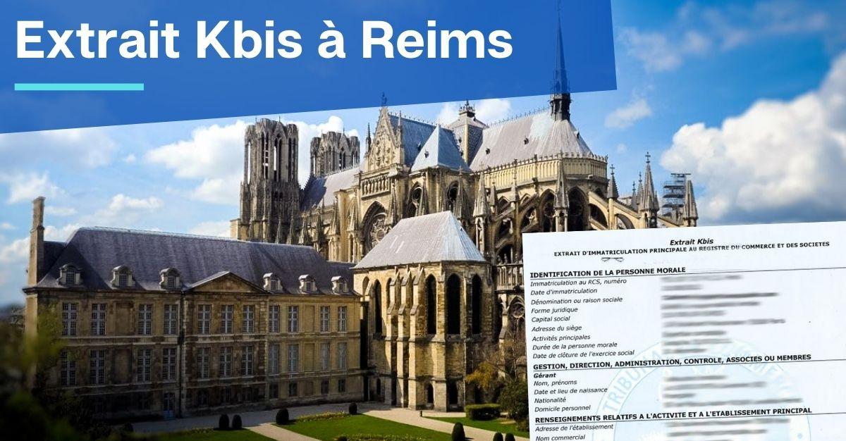 Extrait Kbis à Reims