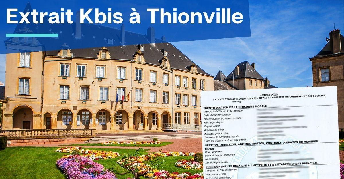 Extrait Kbis à Thionville