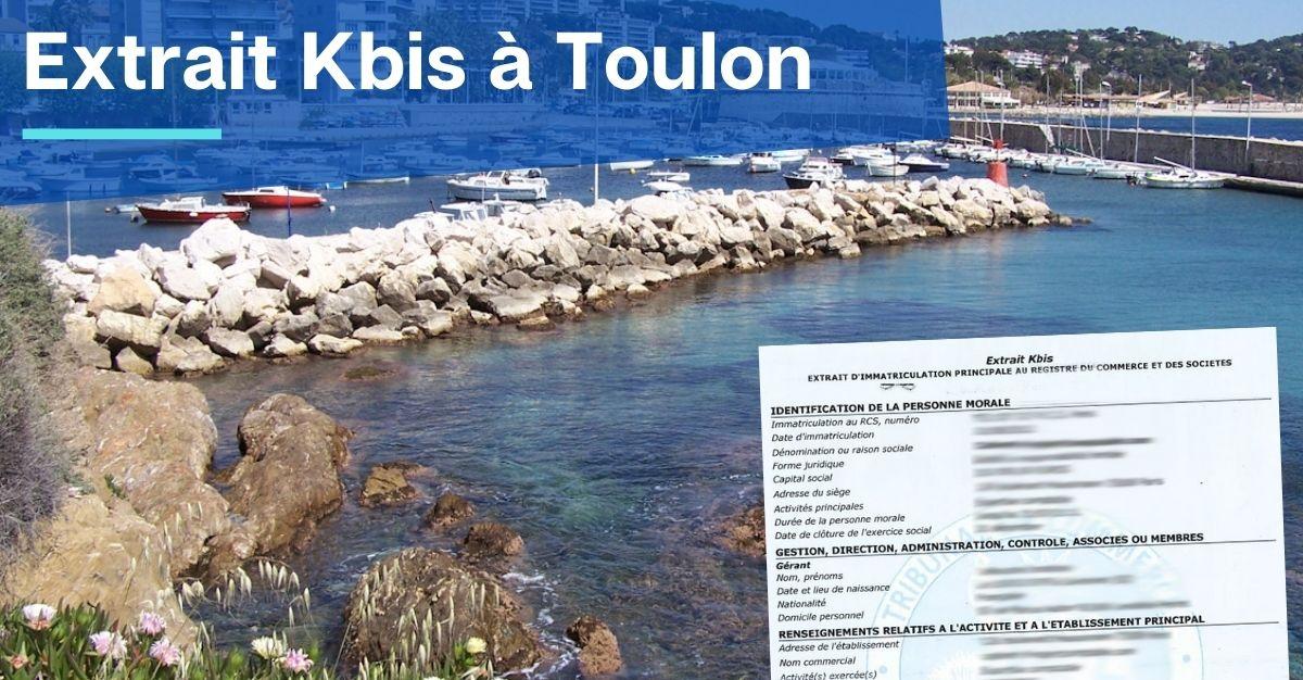 Extrait Kbis à Toulon