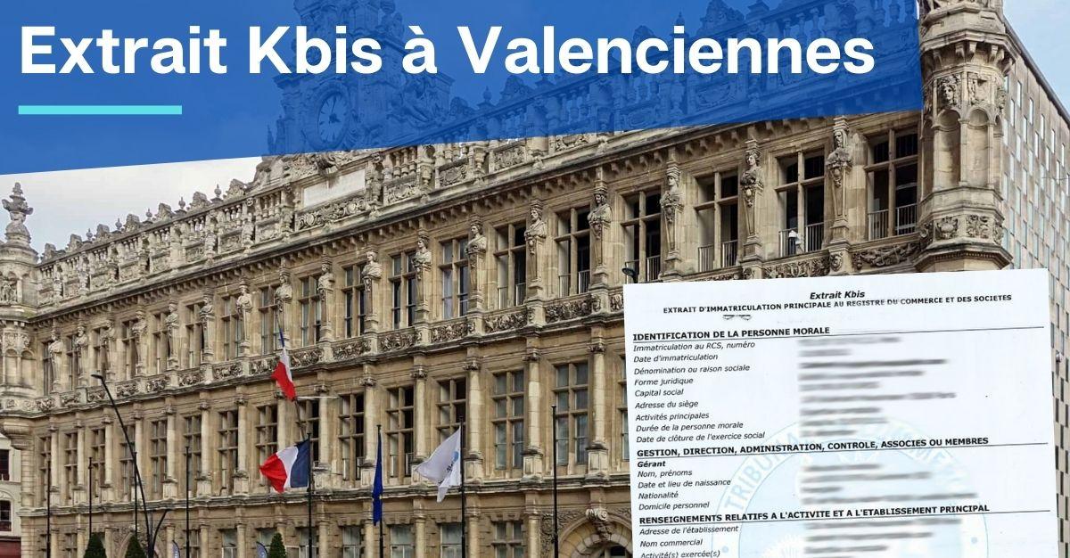 Extrait Kbis à Valenciennes