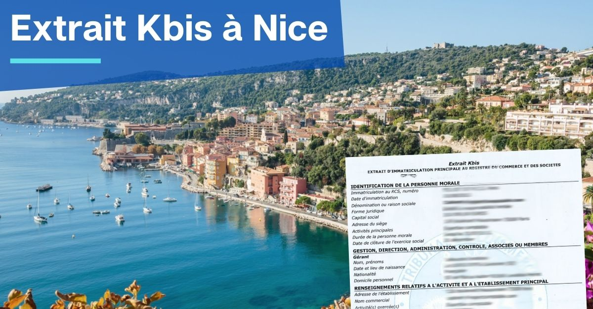Extrait Kbis à Nice