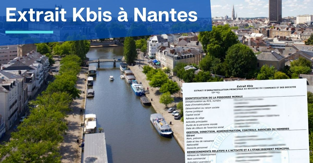 Extrait Kbis à Nantes