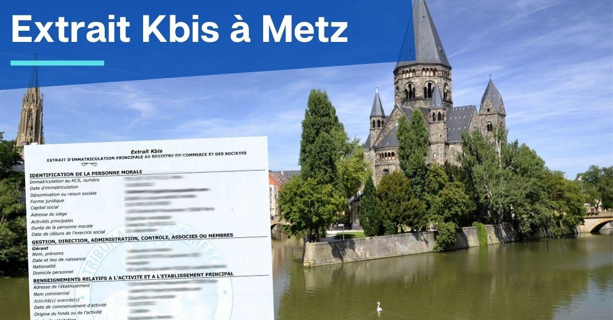 Extrait Kbis à Metz