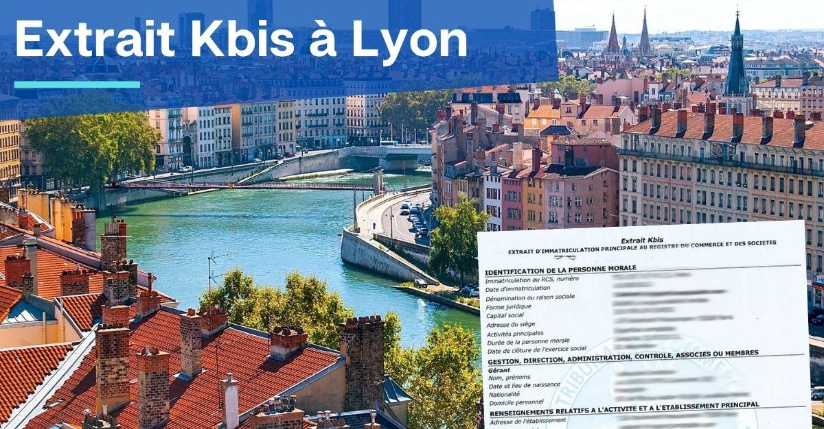 Extrait Kbis à Lyon