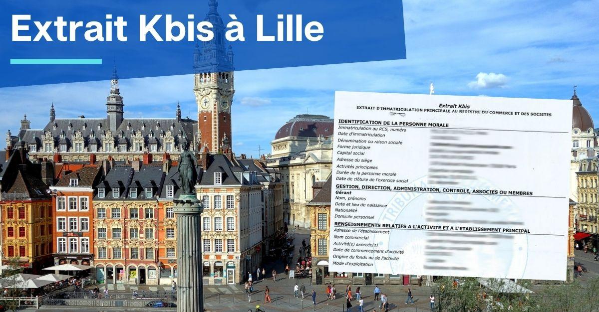 Extrait Kbis à Lille