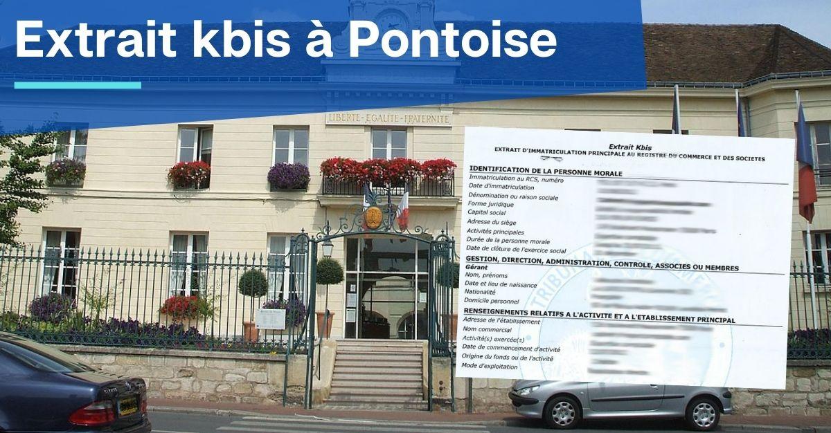 Extrait kbis à Pontoise